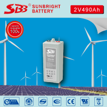 SUNBRIGHT MANUFACTURE OPzV 2V490AH GEL BATTERY
