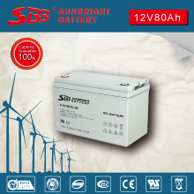GEL  BATTERY 12V80AH HIGH RATE FOR SOLAR ENERGY