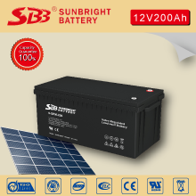 12V200AH SOLAR POWER BATTERY FOR CLEAN ENERGY SYSTEM