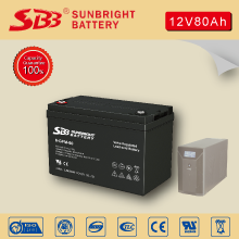 12V80AH DEEP CYCLE BATTERY FOR SOLAR POWER STATION