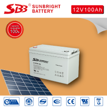 12V100AH SOLAR POWER DEEP CYCLE BATTERY