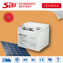 SUNBRIGHT MANUFACTURE DEEP CYCLE BATTERY 12V40AH