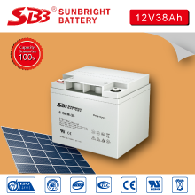 SBB BATTERY DEEP CYCLE BATTERY 12V38AH FOR SOLAR SYSTEM