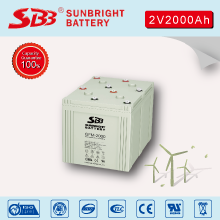 2V2000AH AGM BATTERY FOR TELECOM INSTALLATIONS