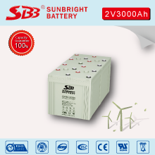 2V3000AH AGM BATTERY FOR SOLAR POWER PLANT