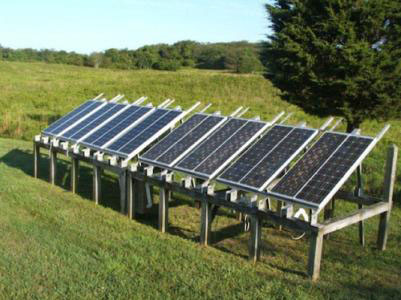 Geometrical Considerations for Solar Panel Installation on a Flat Roof